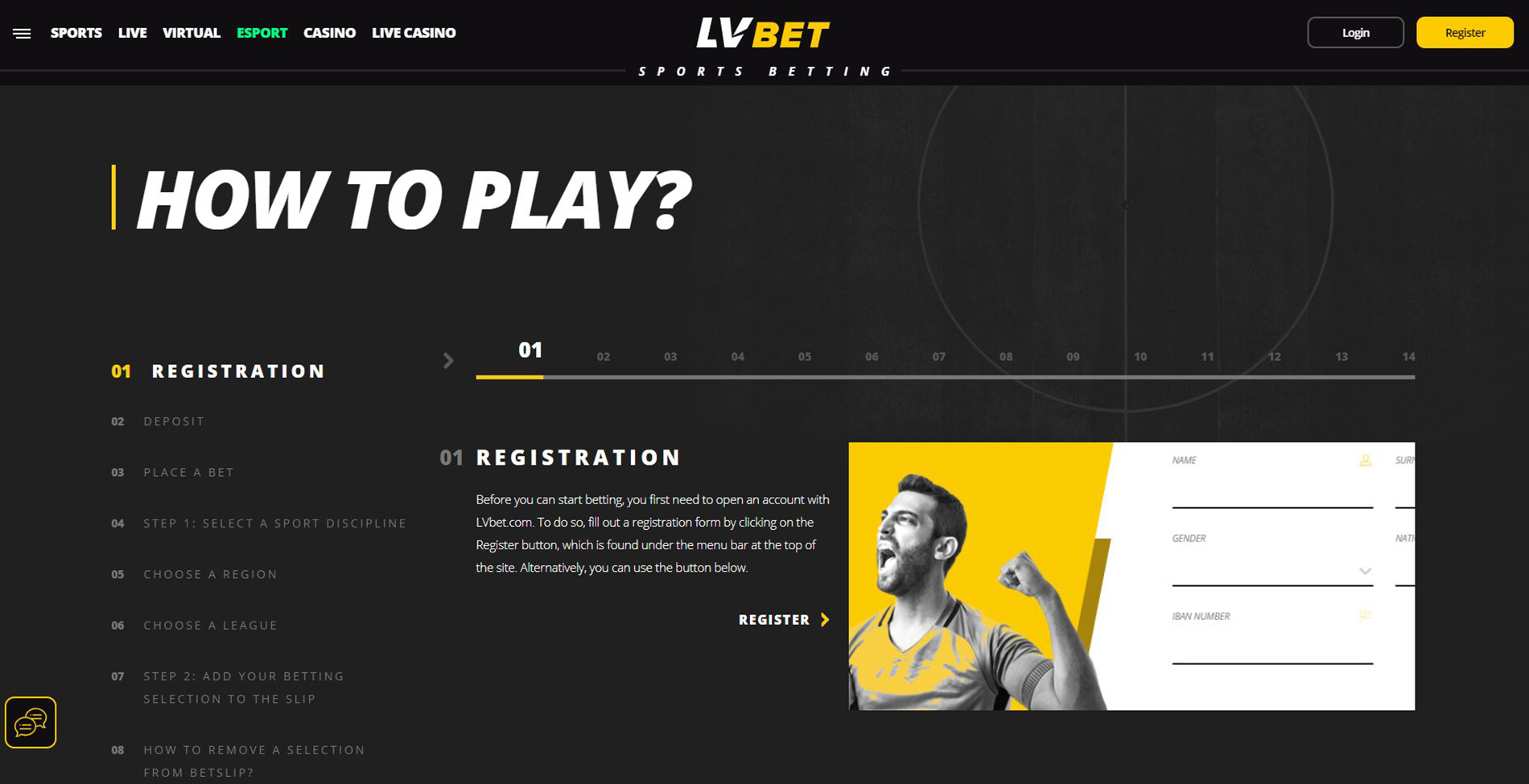 lvbet how to play